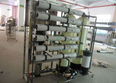 Drinking Water Filter Brackish Water Treatment Plant , Commercial Water RO System